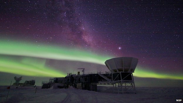Cosmic inflation: BICEP 'underestimated' dust problem